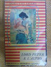 DOROTHY SAYERS - LORD PETER E L'ALTRO - BIBLIOTECA MODERNA MONDADORI XII 1948