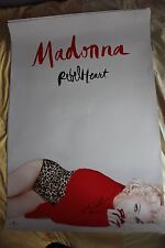 """MADONNA Rebel Heart POSTER  PROMO POLISH 27"""" x 38"""" FREE DELIVERY"""