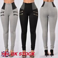 New Women High Waist Slim Skinny Leggings Stretchy Pants Jeggings Pencil Pants