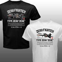 Zero Zeke Japan Navy Kamikaze Fighter Aircraft Plane Aircraft Model T-shirt