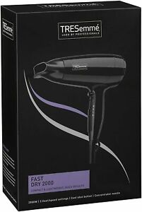 TRESemme 9142TU Fast Dry Hair Dryer 2000W BRAND NEW - UK STOCK - 48 TRACKED POST