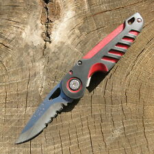 Buck NXT Pocket Knife Rubber Comfort Handle, Serrated Blade Taschenmesser