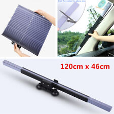 Universal Car Retractable Curtain UV Protection Front Rear Windshield Sun Visor