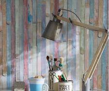 Vintage Colored Wood Self Adhesive Peel-Stick Wallpaper Film d-c-fix® 45cm X 2m