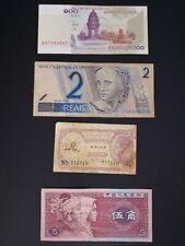 lotes de billetes extranjeros