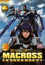 Macross DVD Collection (Macross Frontier TV & Movies, Macross Zero) Boxset (Sub)