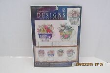 Designs For The Needle Teacups Hometown Counted Cross Stitch Kit Signature
