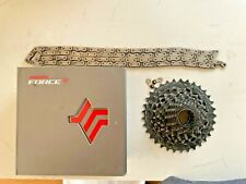 SRAM Force XG - 1270 12 Speed - 10-33 Cassette and Force Chain worth £180