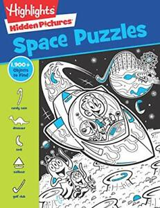 Space Puzzles Highlights Hidden Pictures