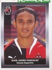 077 ELVIS GONZALEZ CUCUTA DEPORTIVO STICKER PANINI COLOMBIA PRIMERA A 2008