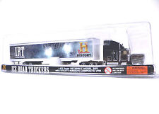 HO 1:87 Scale Model Semi Ice Road Truckers Peterbilt Norscot Tractor Trailer