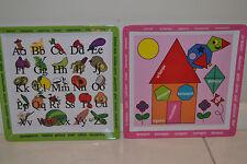 Kids Children Girls Educational Dinner Plate Set, Ideal Birthday Christmas Gift