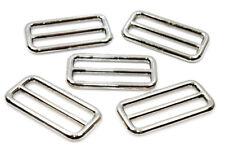 Schieber-Gleiter-Versteller rund 38mm Stahl, vernickelt 5 Stück