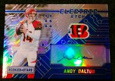 2016 Rookies and Stars ANDY DALTON #10 Or #21/25! Autograph Electric Etch SSP