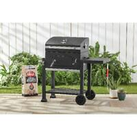 Heavy Duty 24-Inch Charcoal Grill Outdoor Patio Cooking BBQ Barbecue Smoker NEW