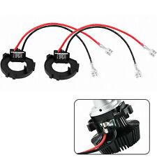 2x H7 LED Headlight Adapter Holder Conversion Kit For VW Golf MK7 MK6 JETTA