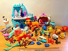 Disney Mixed Figures Bundle inc.Princesses,Finding Dory,Frozen