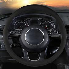 38cm/15'' Microfiber Leather Car SUV Steering Wheel Cover Summer Wearproof Cool