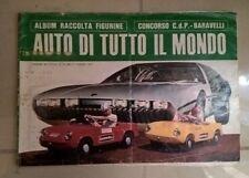 ALBUM FIGURINE AUTO DI TUTTO IL MONDO BARAVELLI 1967 COMPLETO