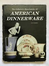 The Collector's Encyclopedia of American Dinnerware Jo Cunningham W/ Price Guide