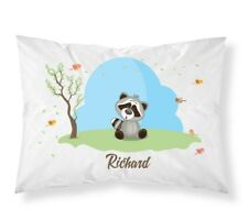 Personalised Cute Animals Pillow Case Cushion Cover Custom Made Print 101