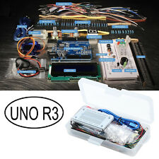 UNO R3 Small Starter Project Kit for Arduino Beginner LCD LED Ultrasonic