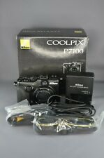 MINT IN BOX Nikon COOLPIX P7100 10.1 MP Digital Camera 7.1x Optical f/2.8-5.6