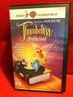 THUMBELINA Pollicina  (Usa 1994) VHS Warner - Don Bluth Gary Goldman