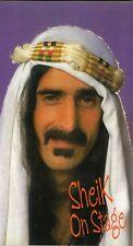 Frank Zappa Sheik On Stage 2 cd Box Tri Fold Digipack EU 2010