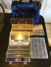 TACKLE BAG &1 Tackle Box & 1x Utility Box & 2x Lure COMPARTMENT Box's