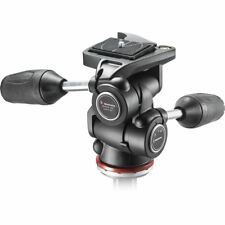 Manfrotto MH804-3W (replace 804RC2) 3 Way Tripod Head Mark II. No Fees! NEW