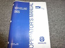 New Holland 565 Square Baler Owner Operator Maintenance Manual User Guide