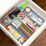 Plastic Drawer Desk Draw Storage Tray Office/Home Kitchen Organizer Box JAP