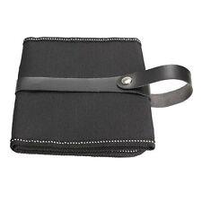 Canvas Wrap Roll up Pen Case Pencil Bag Holder Storage Pouch (for 48pcs Pens) LW