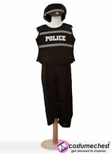 Childrens Girls Boys 5-7 years Police Costume by Pretend To Bee