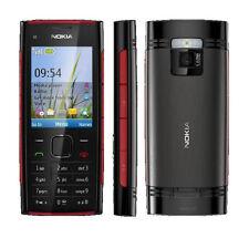 Nokia X2-00 rosso sul Nero Gsm Sbloccato Telefono Cellulare Musica Radio 5MP Camera