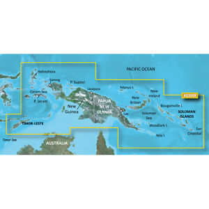 Garmin Bluechart G2 - HXAE006R - New Guinea North - Micro SD/SD   010-C0881-20