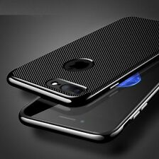 COVER Custodia CARBON Hybrid ARMOR per Apple iPhone X 6 6s 7 8 Plus ORIGINALE ✅