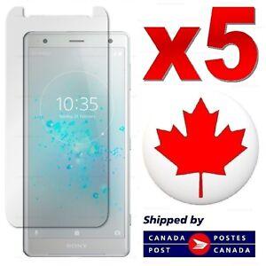 5x Sony Xperia XZ2 XZ1 XZ Z5 Premium Z3 Tempered Glass Screen Protector