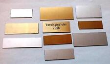 Schilder für Pokale von 4 bis 6cm Länge Preis gilt für     2 STÜCK