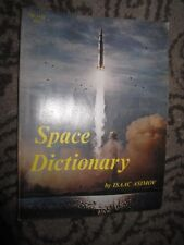 Vtg PB book, Space Dictionary by Isaac Asimov, 1970, Scholastic (3rd printing)