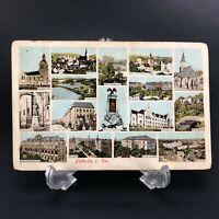 VTG Postcard Dobeln GERMANY Post Card Souvenir Architecture Building Antique