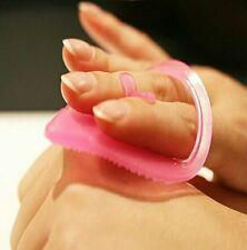 Pennello per Viso Punti Neri Remover Pulizia Pad Face-lavaggio massaggio PAD # T