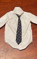 "1/6 hot toys man Suit tie shirt For Tony stark  Iron Man 12"" Hot Toys Figure"