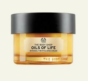 THE BODY SHOP OILS OF LIFE INTENSELY REVITALISING EYE CREAM GEL 20 ML NEW/BOXED