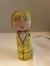 Sketch. Inc. lucie kaas The Bride From Movie Kill Bill Superba Wood Doll Nib