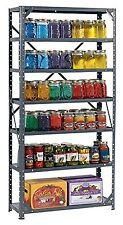 7 Tier Shelf Storage Heavy Duty Metal Steel Shelving Home Unit Organizer Garage