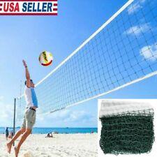 Green Height Badminton Volleyball Tennis Beach Net Set Indoor Outdoor Games US