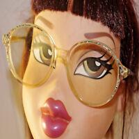 Lunettes monture de vue Eyeglasses Vintage Couleur écaille bleu argent plastique