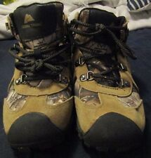 Ozark Trail Us Shoe Size 4 Boys' Youth Hiker Camo Suede Boot Cushioned Childrens